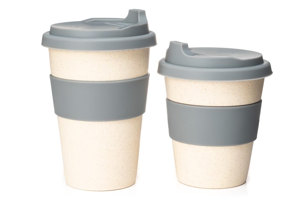 Купить чашку из бамбука с силиконовой крышкой