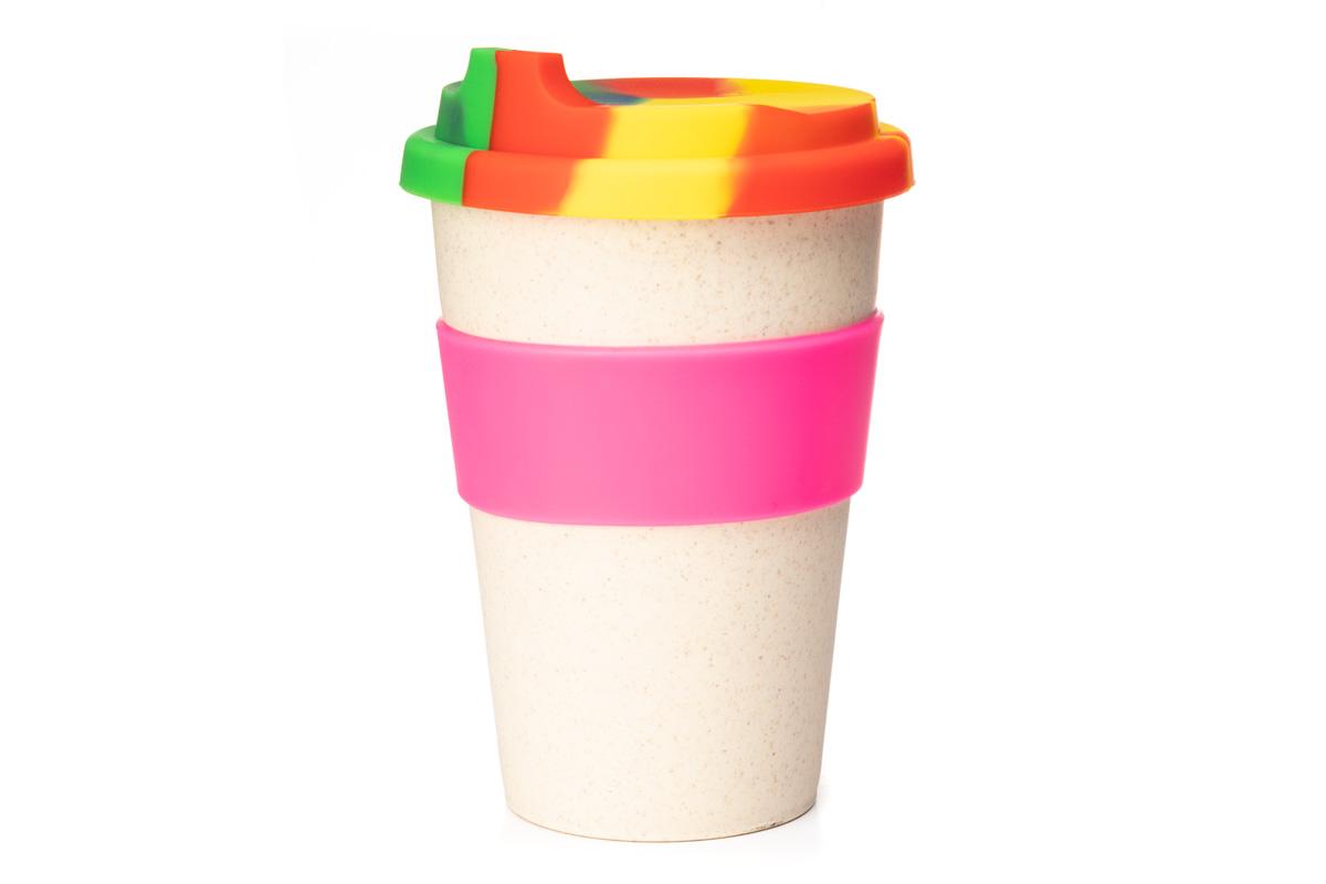 Эко чашка для кофе из бамбука