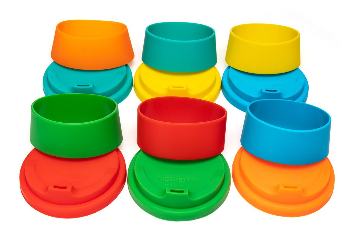 Силиконовые крышки для чашки