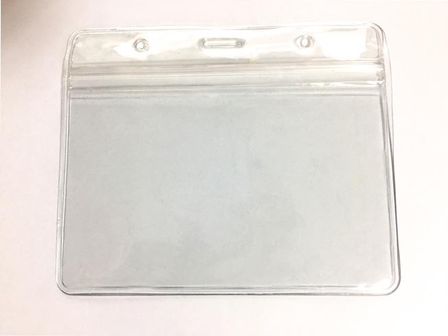 карман ПВХ для бейджа