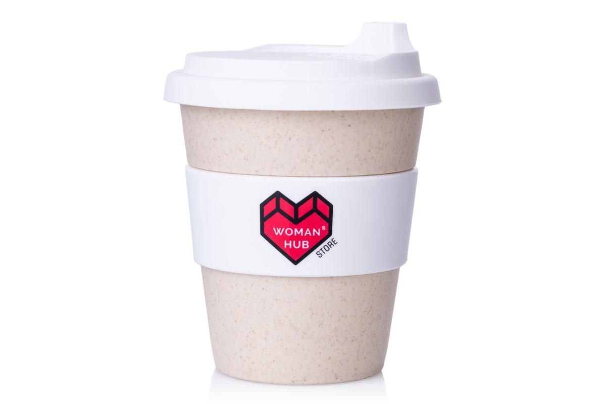 бамбуковая чашка с логотипом